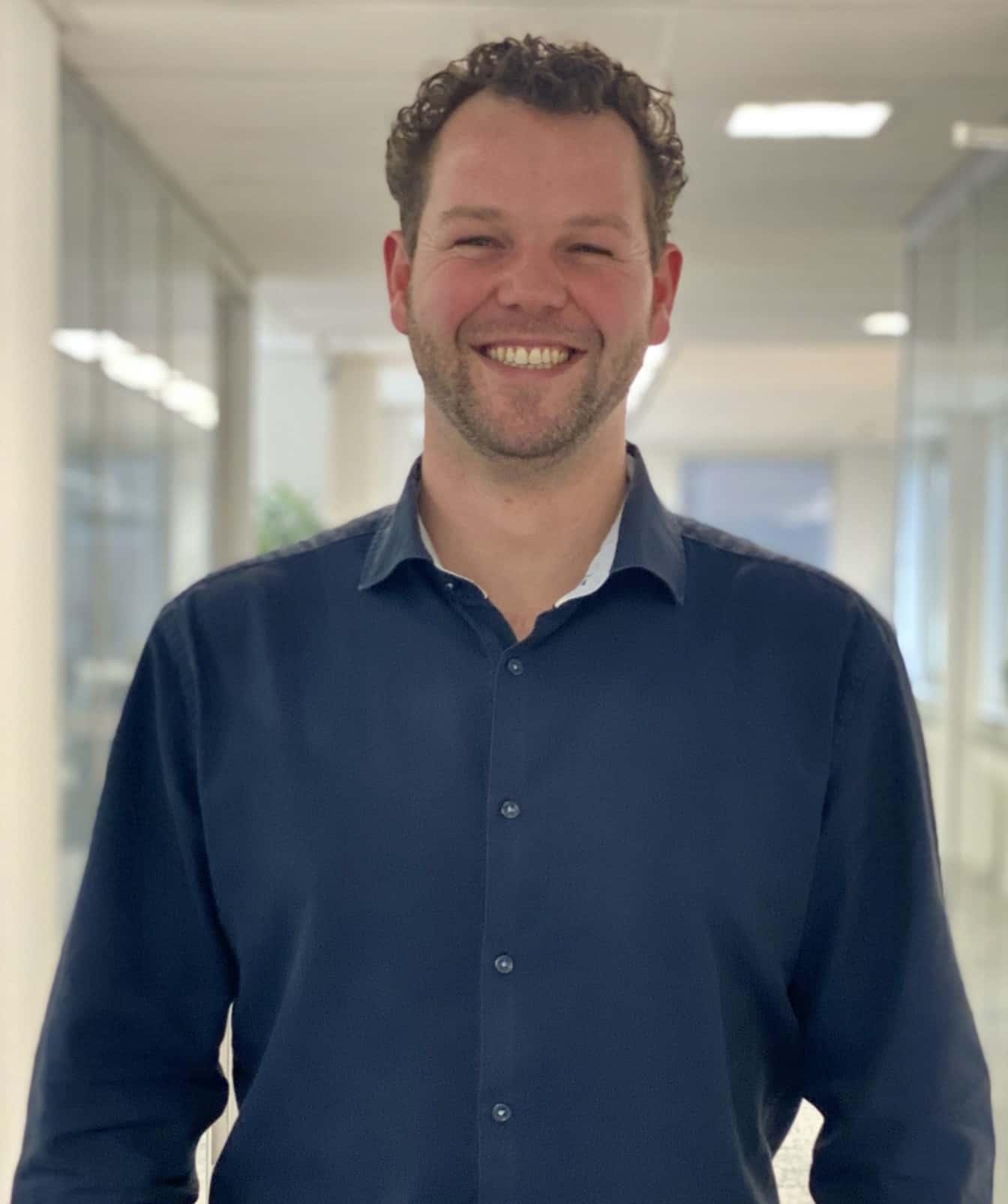 Joey Blom - accountmanager bij Quebble